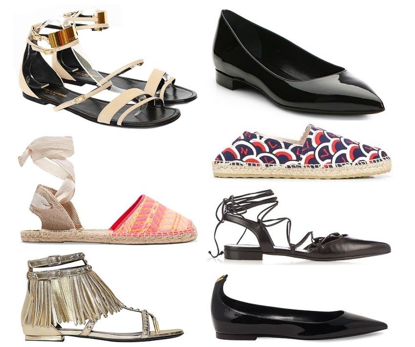 4 loại giày đế bệt đồng hành cùng quý cô trong mùa hè 5