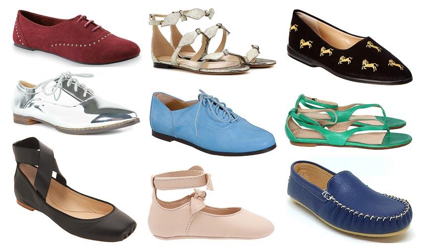 4 loại giày đế bệt đồng hành cùng quý cô trong mùa hè 11