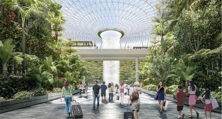 Khu phức hợp sân bay tuyệt đẹp Jewel tại sân bay quốc tế Changi, Singapore - 04