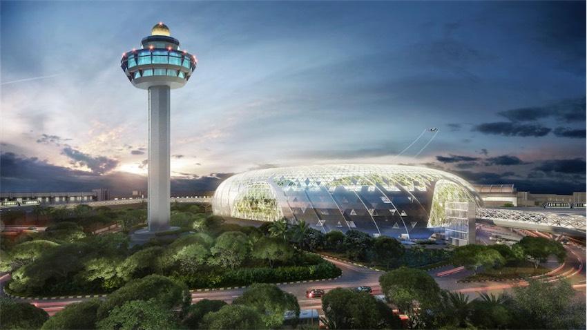 Khu phức hợp sân bay tuyệt đẹp Jewel tại sân bay quốc tế Changi, Singapore - 02