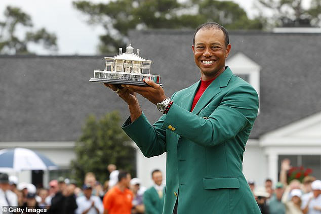 """""""Siêu hổ"""" Tiger Woods vô địch Masters 2019 với danh hiệu Major thứ 15-3"""