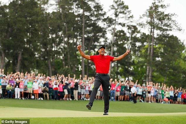"""""""Siêu hổ"""" Tiger Woods vô địch Masters 2019 với danh hiệu Major thứ 15-1"""