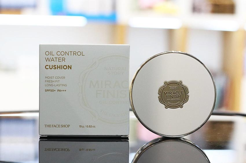 TheFaceShop Miracle Finish Oil Control Water Cushion