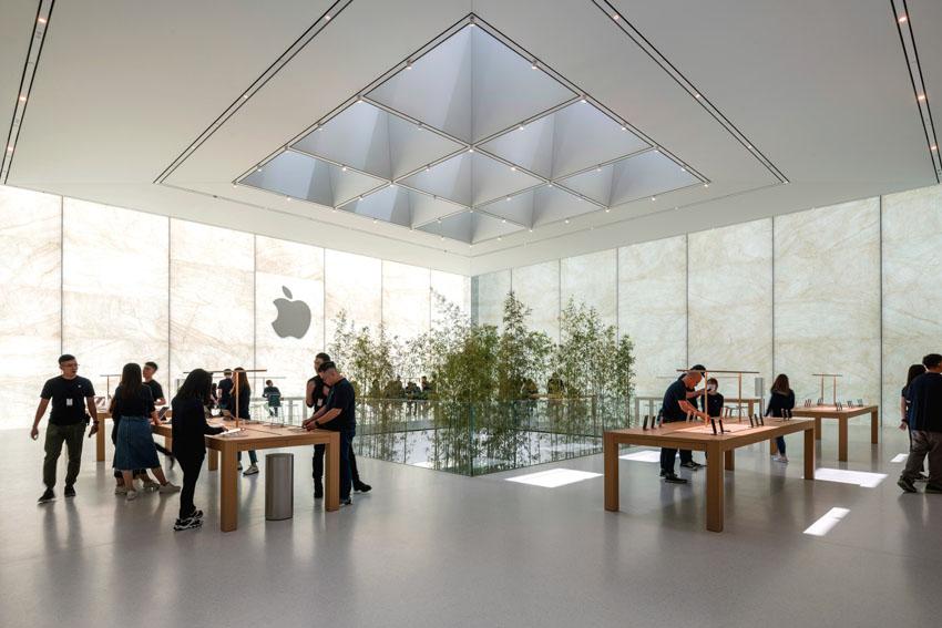 Không gian xanh độc đáo tại cửa hàng Apple ở Macau 3