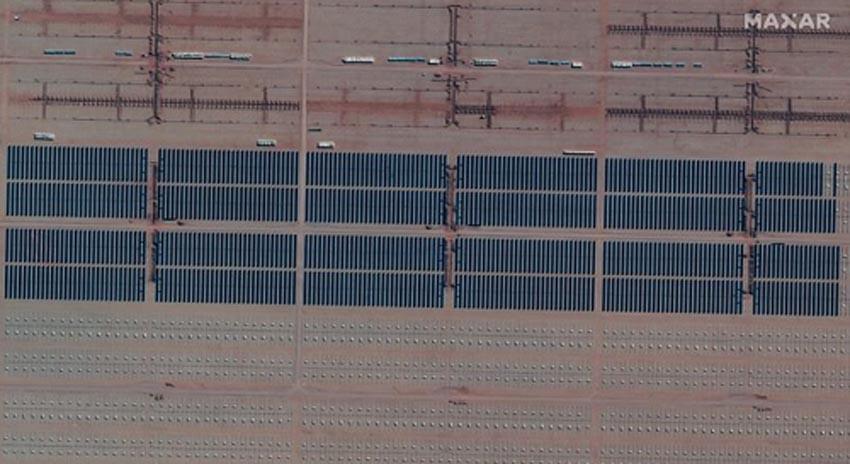 Dự án Cauchari nhìn từ trên cao. Ảnh: Reuters