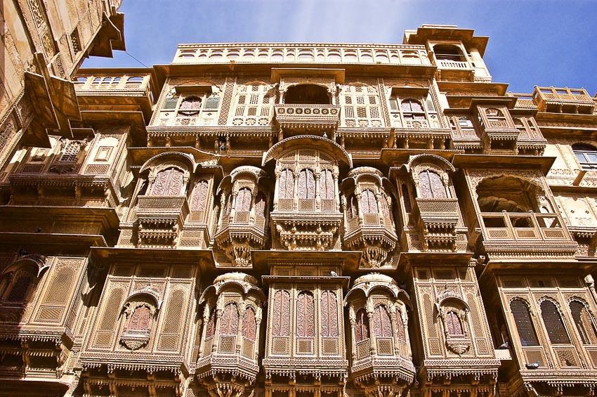 Haveli kiến trúc nhà phố độc đáo của Ấn Độ 1