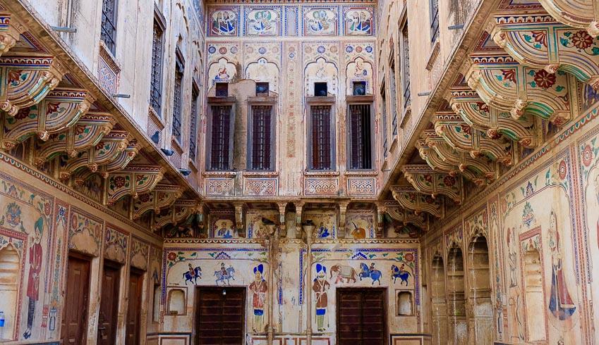Haveli kiến trúc nhà phố độc đáo của Ấn Độ 10