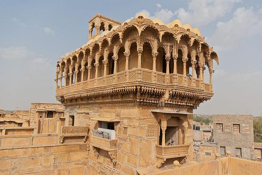 Haveli kiến trúc nhà phố độc đáo của Ấn Độ 2