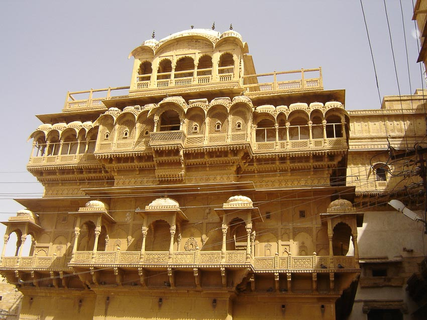 Haveli kiến trúc nhà phố độc đáo của Ấn Độ 3