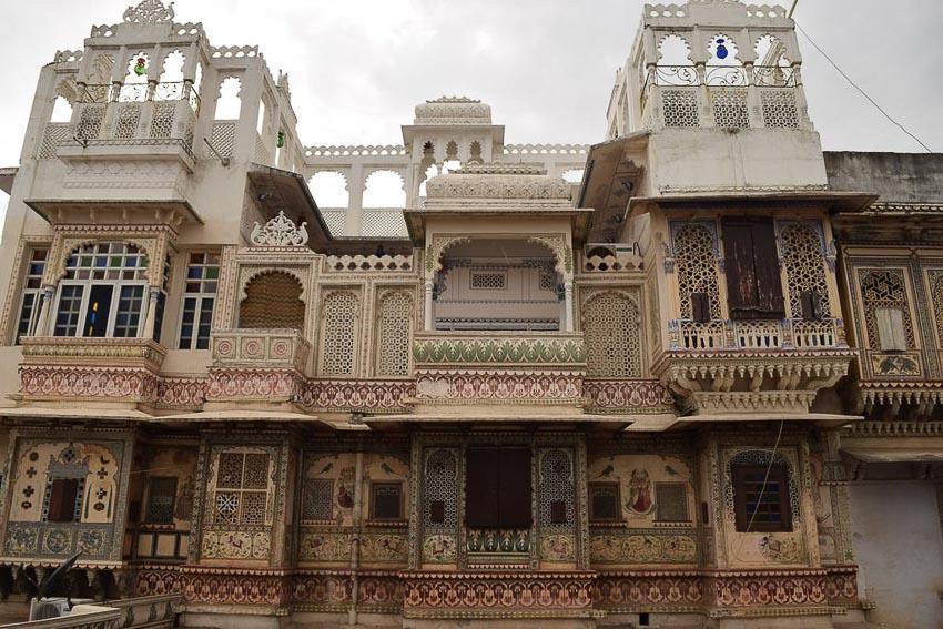 Haveli kiến trúc nhà phố độc đáo của Ấn Độ 4