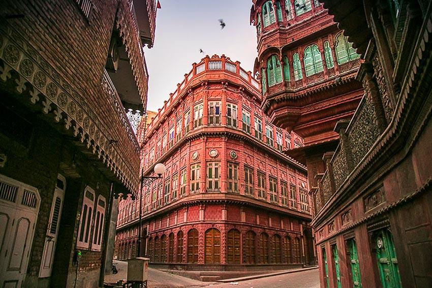 Haveli kiến trúc nhà phố độc đáo của Ấn Độ 6