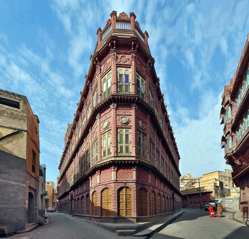 Haveli kiến trúc nhà phố độc đáo của Ấn Độ 7