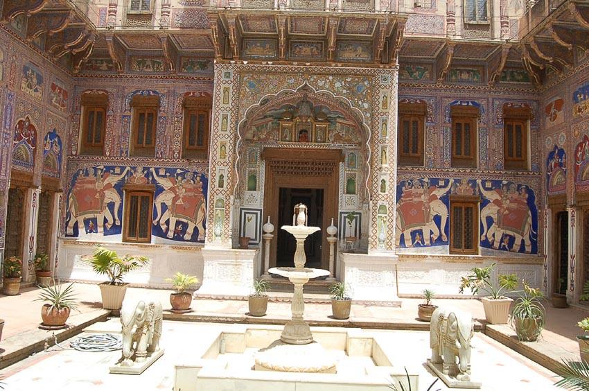 Haveli kiến trúc nhà phố độc đáo của Ấn Độ 9