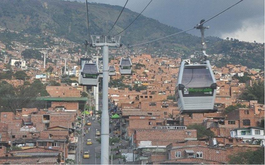 Metrocable ở Medellin