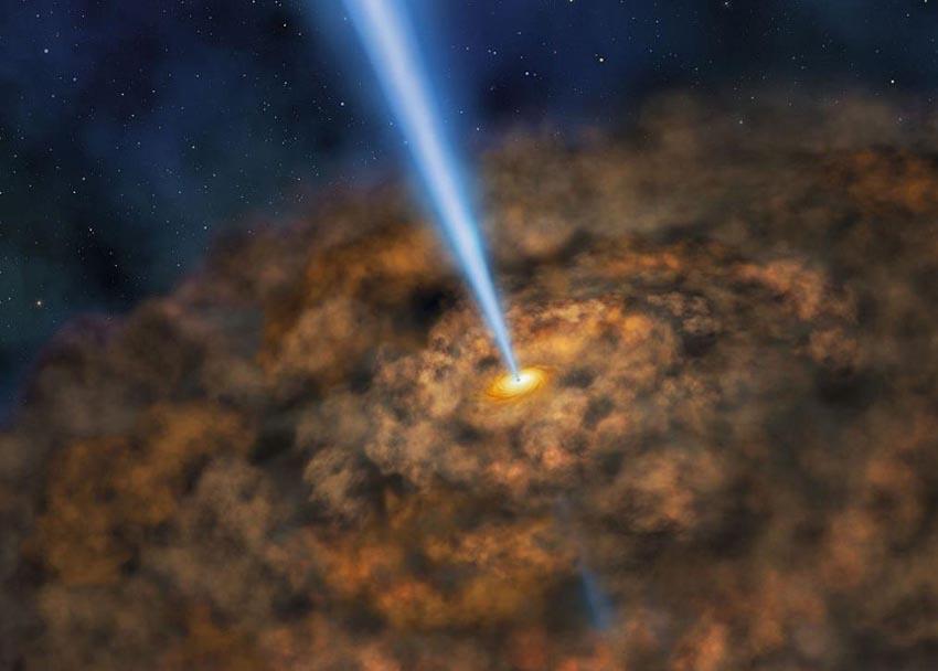 Những hình ảnh về hố đen vũ trụ trước đây đều là sự tưởng tượng hoặc mô phỏng máy tính dựa trên dữ liệu và thuật toán. Ảnh mô phỏng: NASA