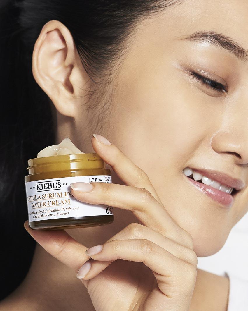 Kiehl's ra mắt kem dưỡng Serum-Infused Water Cream 4