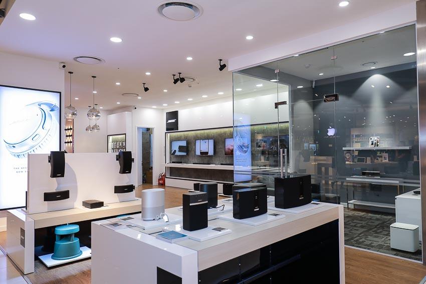 Không gian củ Bose Store Lotte Hà Nội
