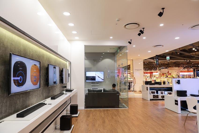 Không gian của Bose Store Lotte Hà Nội