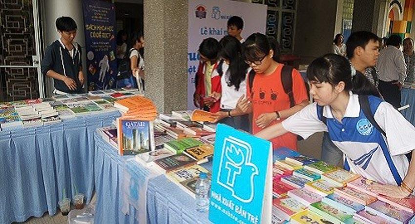 Ngày hội đọc sách tại Thư viện Khoa học Tổng hợp TP. Hồ Chí Minh 1