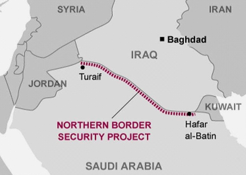 Những bức tường phân chia biên giới các nước mà ít người biết đến 7