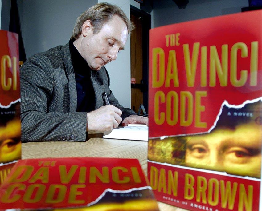 Dan Brown và tiểu thuyết Mật mã Da Vinci