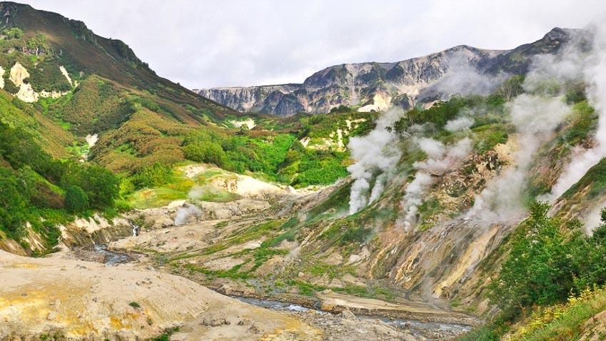 Thung lũng chết, Nga