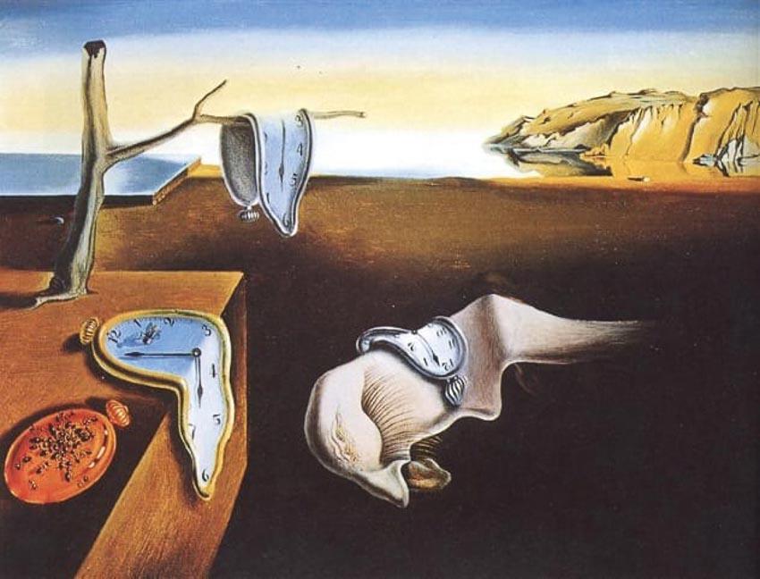 Bức họa Sự dai dẳng của ký ức
