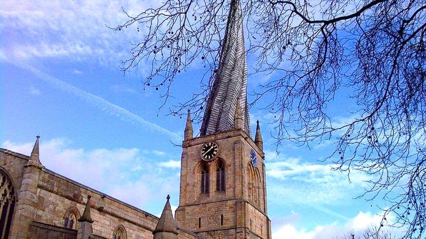 Nhà thờ Thánh Mary và Tất cả Các thánh, Chesterfield