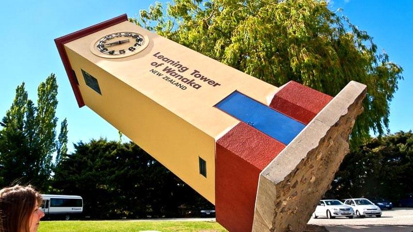 Tháp nghiêng Wanaka, New Zealand