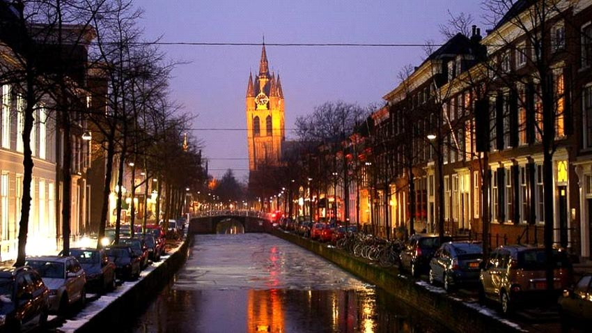 Nhà thờ Delft Oude Kerk, Hà Lan