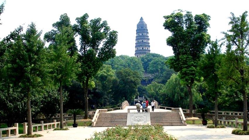 Tháp Huqiu, Pagoda, Trung Quốc