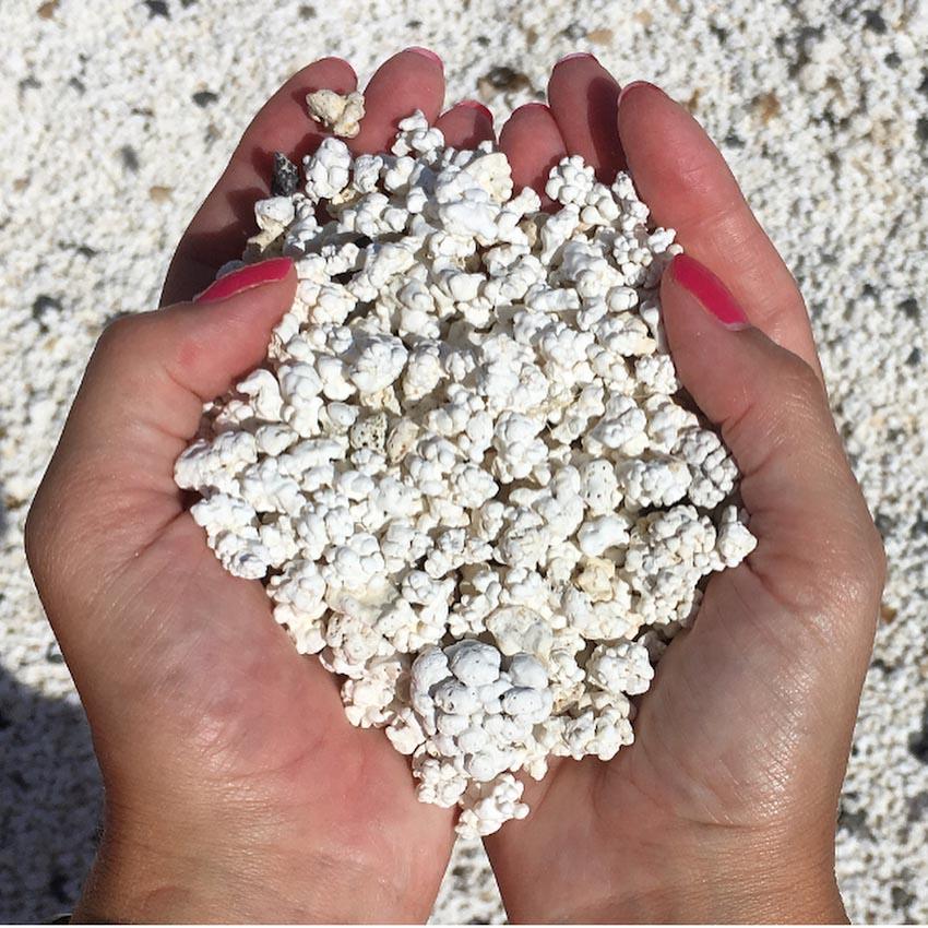 Popcorn Beach hoặc Popcorn Bay - Bãi biển bỏng ngô ở Tây Ban Nha 4