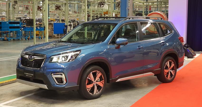 Nhà máy lắp ráp xe Subaru tại Thái Lan