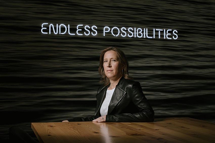 CEO YouTube Susan Wojcicki. Ảnh: New York Times