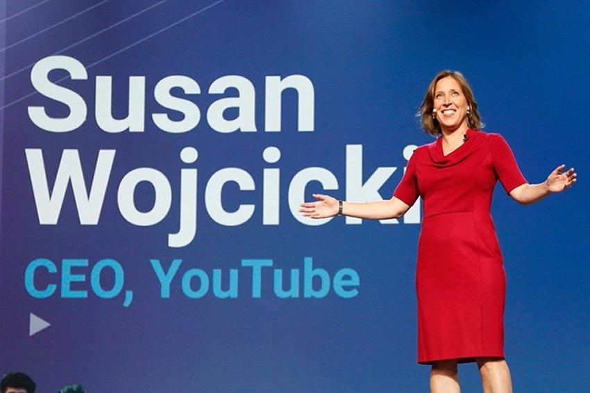 CEO của YouTube là người thân cận của nhà đồng sáng lập Larry Page. Ảnh: Getty