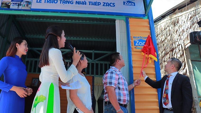 Tôn Zacs và đại lý trao tặng 50 ngôi nhà thép Zacs cho người lao động nghèo 3