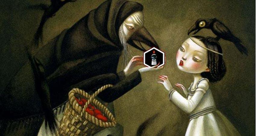 Người mẹ trong truyện cổ tích hóa thân thành cây cối hoặc quái thú bảo vệ sau lưng con gái