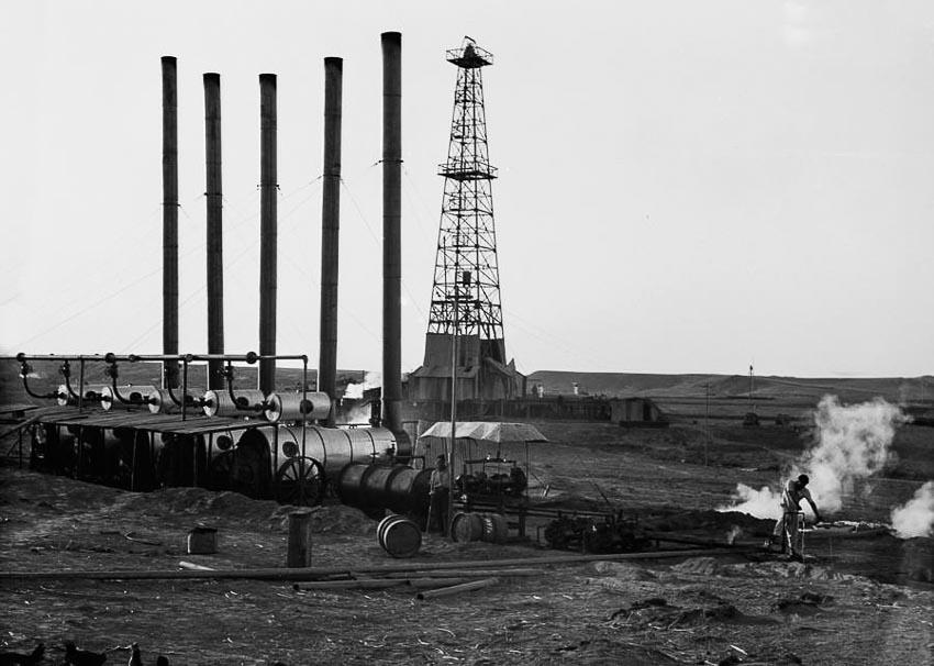 Các giếng dầu của Iraq Petroleum