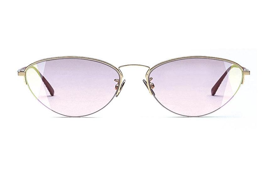 Mắt kính mát cá tính của Bottega Veneta