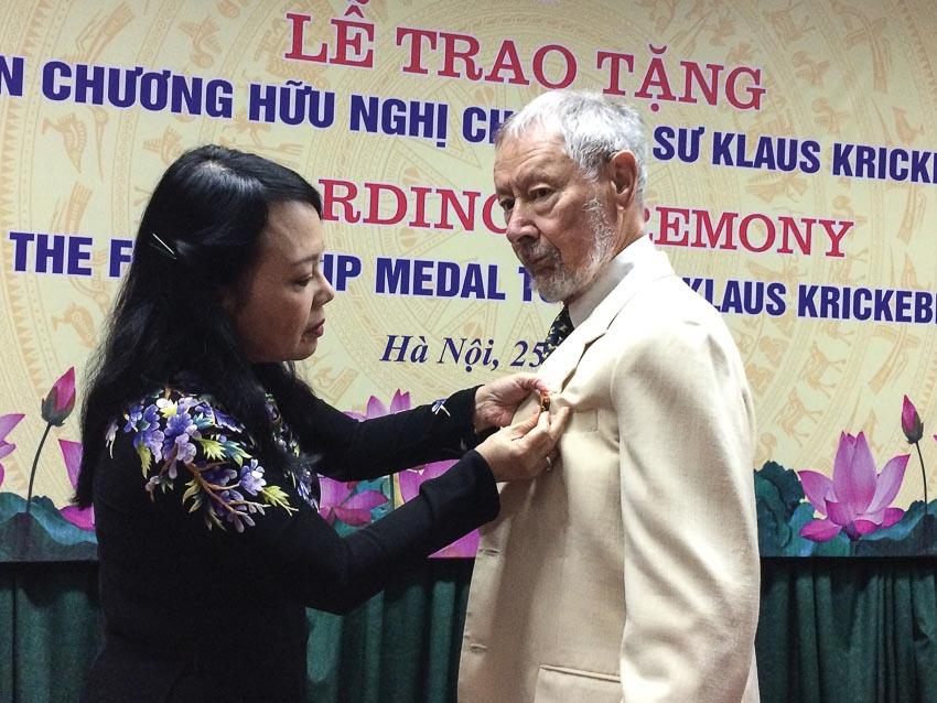 Thầy tôi Klaus Krickeberg - Người yêu mến đất Việt
