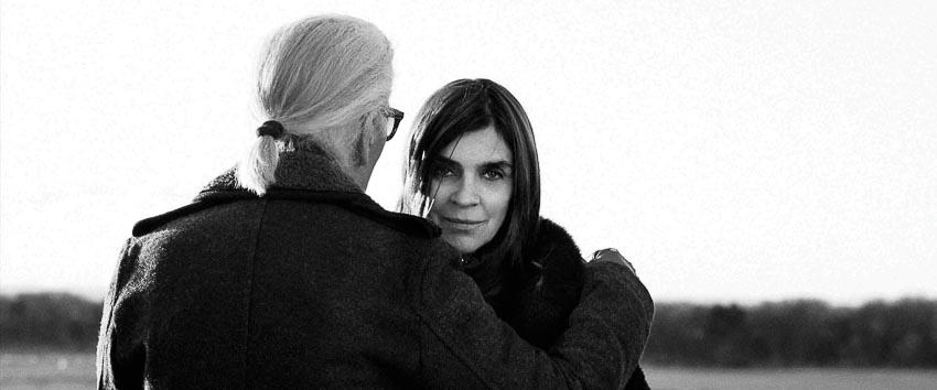 Carine Roitfeld giữ vị trí tư vấn phong cách cho thương hiệu Karl Lagerfeld