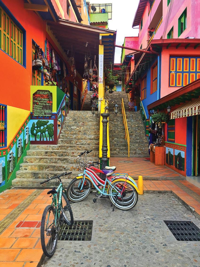 Người dân Colombia là những bậc thầy trong trang trí nhà cửa