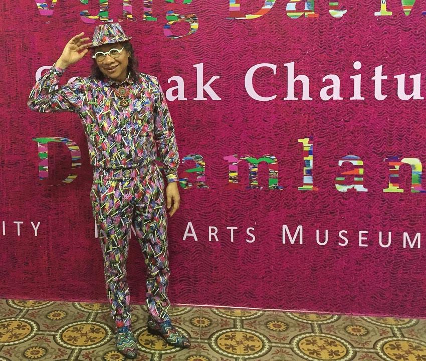 Somsak Chaituch tại Bảo tàng Mỹ thuật TP. Hồ Chí Minh