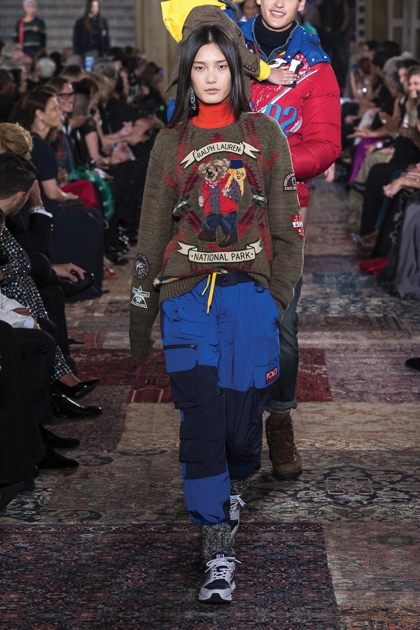 Ralph Lauren - xu hướng quần túi hộp