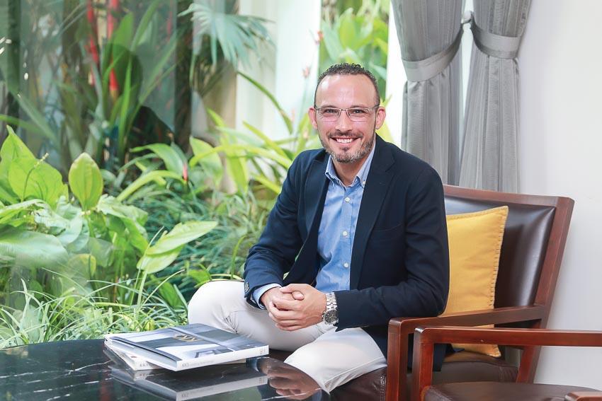 Ông Manuel Ferriol - Tổng quản lý khu nghỉ dưỡng biển Meliá Hồ Tràm