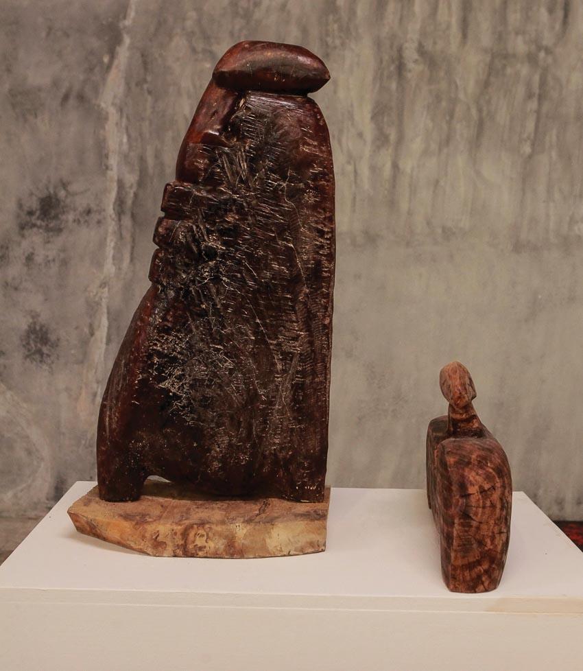 Triển lãm điêu khắc của nghệ sĩ Lê Ngọc Thái 2