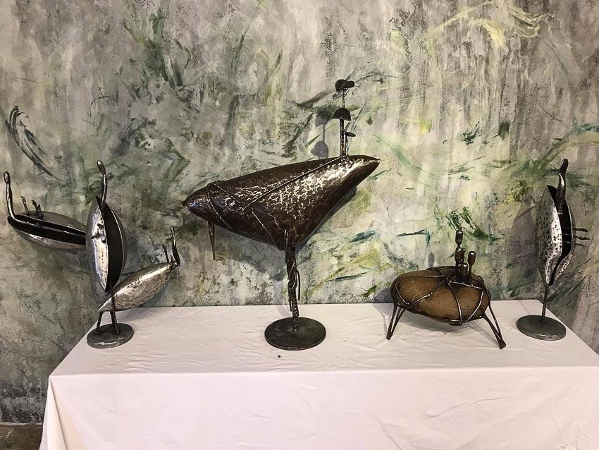 Triển lãm điêu khắc của nghệ sĩ Lê Ngọc Thái 3