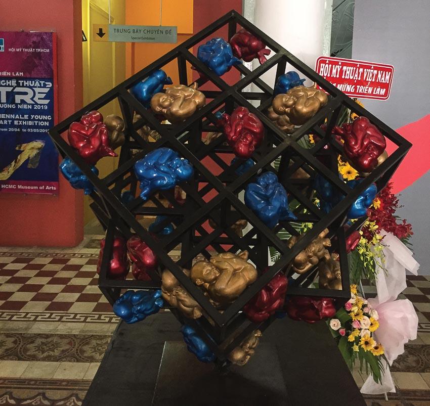 Rubik của Phạm Nguyễn Quốc Huy (giải khuyến khích)