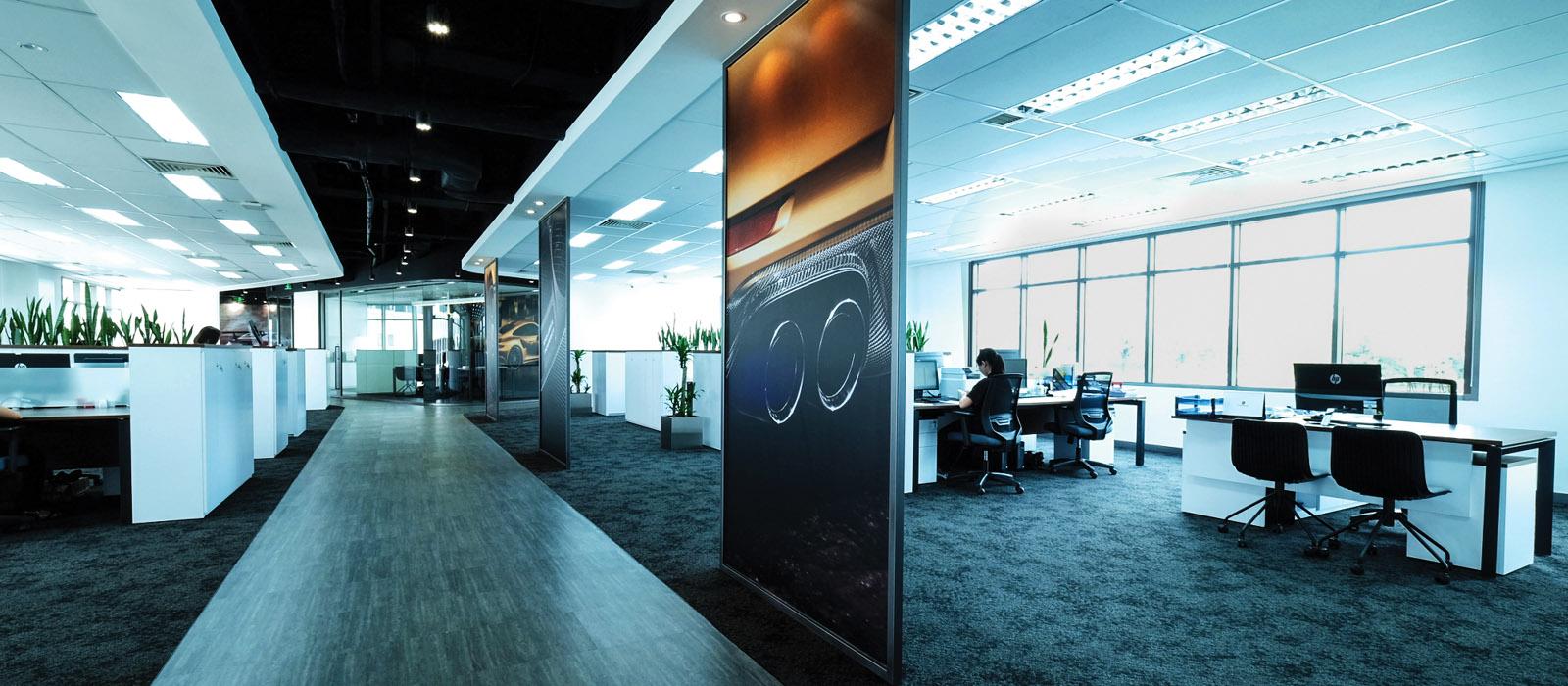 văn phòng của Porsche Việt Nam 3