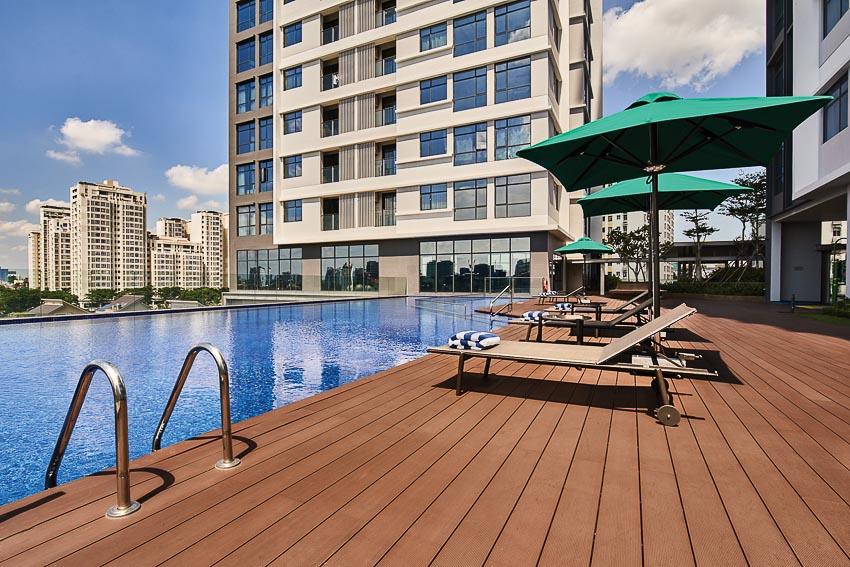 khu căn hộ dịch vụ Oakwood Residence Saigon 4